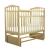 Кроватка детская с маятником Золушка 3 (Светлый)